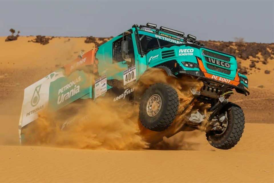 Dakar Team De Rooij with Allison Transmissions by DLS