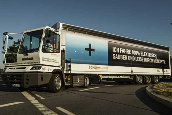 Terberg EV Yard Truck with Allison Transmission by DLS