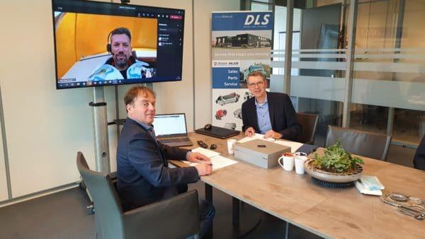 DLS and Terberg Benschop sign supply agreement